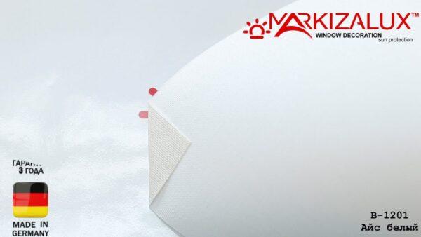 ajs belyj1 600x338 - Рулонная штора с тканью Айс белый