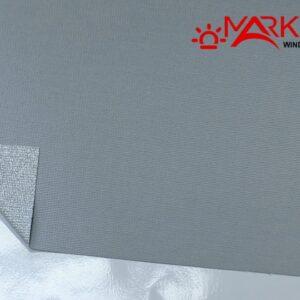 Рулонная штора с тканью Айс серый