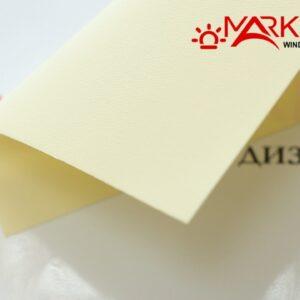 Рулонная штора с тканью Аква ваниль