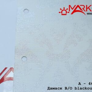 damask blackout belyj zhemchug1 300x300 - Рулонная штора с тканью Дамаск blackout белый жемчуг (Германия)