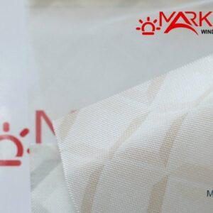 Рулонная штора день ночь с тканью Марколини (Германия)