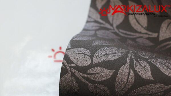 melisa shokolad1 600x338 - Рулонная штора с тканью Мелиса шоколад (Германия)