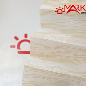 mirazh1 300x300 - Штора плиссе с тканью Мираж (Германия)