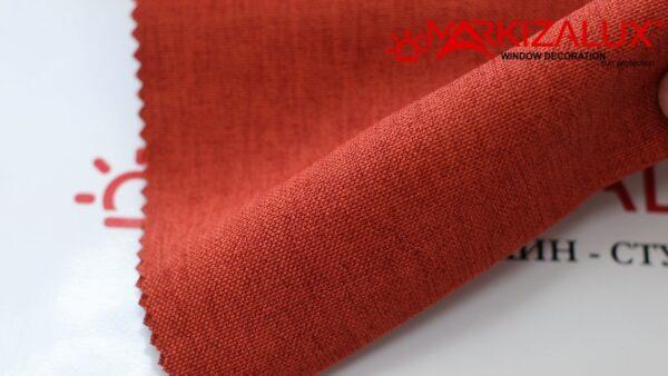 Римская штора с тканью Рогожка 11