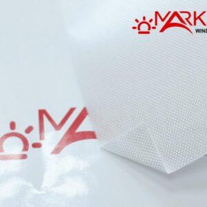 skrin trevira belyj alu1 300x300 - Рулонная штора с тканью Скрин тревира белый Alu (Германия)