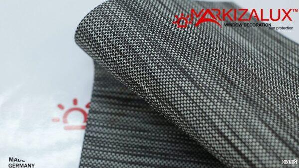 ultra skrin kupazh grafitovyj1 600x338 - Рулонная штора с тканью Ультра скрин купаж графитовый (Германия)
