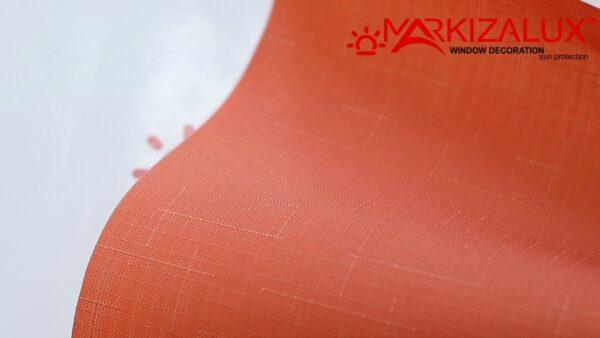 zhasmin terrakot 1 600x338 - Рулонная штора с тканью Жасмин терракот (Польша)