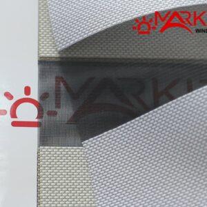 Рулонная штора день ночь с тканью Матрикс (Германия)