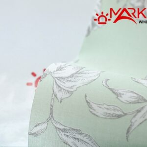 Рулонная штора с тканью Эдем салатовый (Германия)