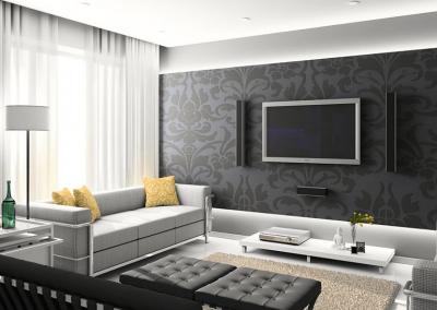 poshiv shtor minimalizm v gostinuy6 400x284 - Шторы по стилям