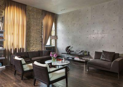 shtory v stile loft gostinay9 400x284 - Шторы по стилям