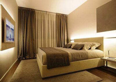 shtory v stile minimalizm v spalne 400x284 - Шторы по стилям